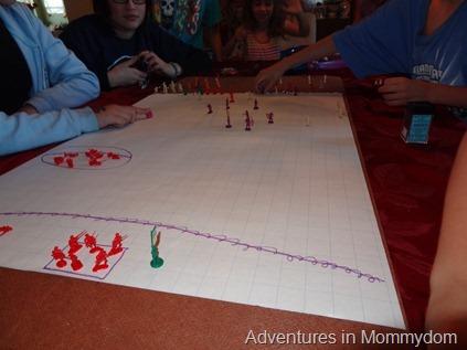 Battle of San Juan hill scenario