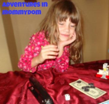 Allowance game learning money