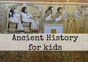 Ancient homeschool history