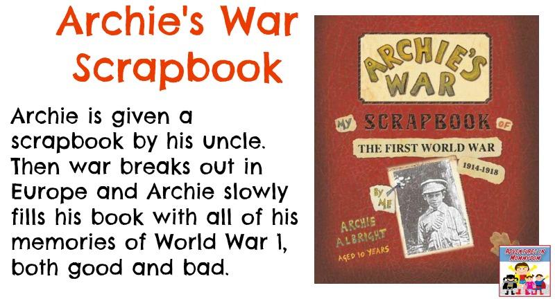 Archie's War scrapbook