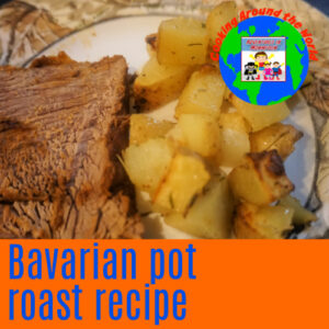 Bavarian pot roast recipe slow cooker Europe main dish