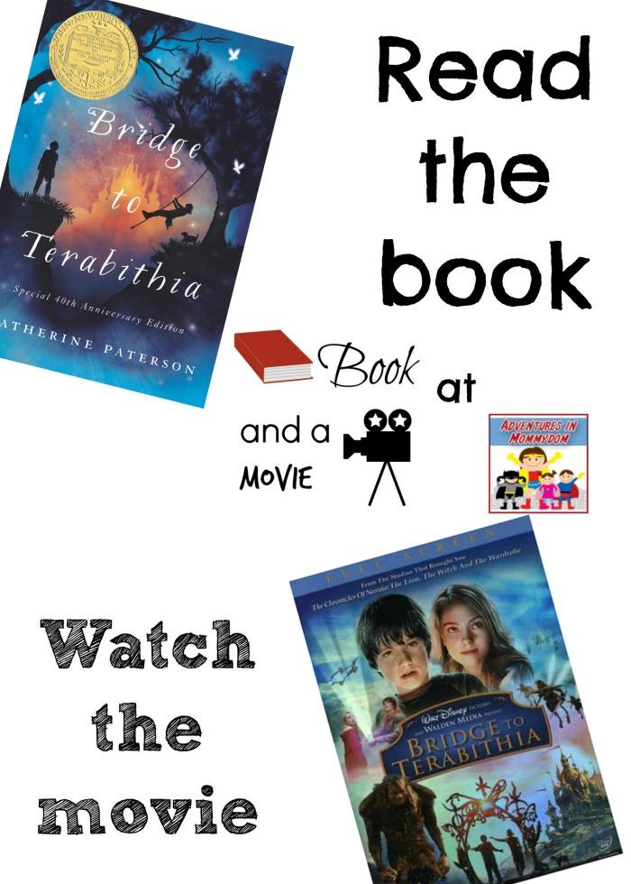 Bridge to Terabithia book and a movie