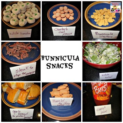 Bunnicula snacks