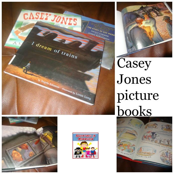 Casey Jones unit picture books