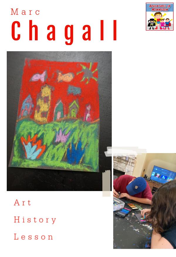 Chagall art history lesson