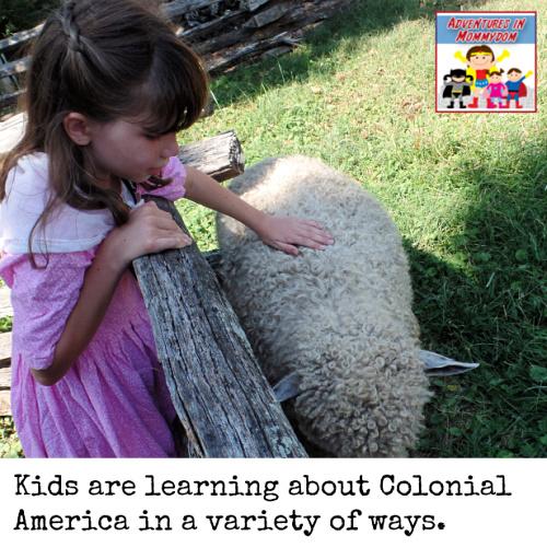 Colonial America lesson plans