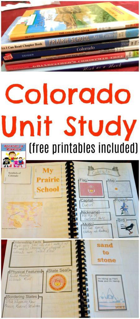 Colorado Unit Study