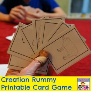 Creation Bible Game Genesis Bible Game printable Sunday School