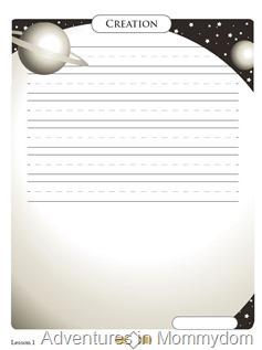 Creation writing