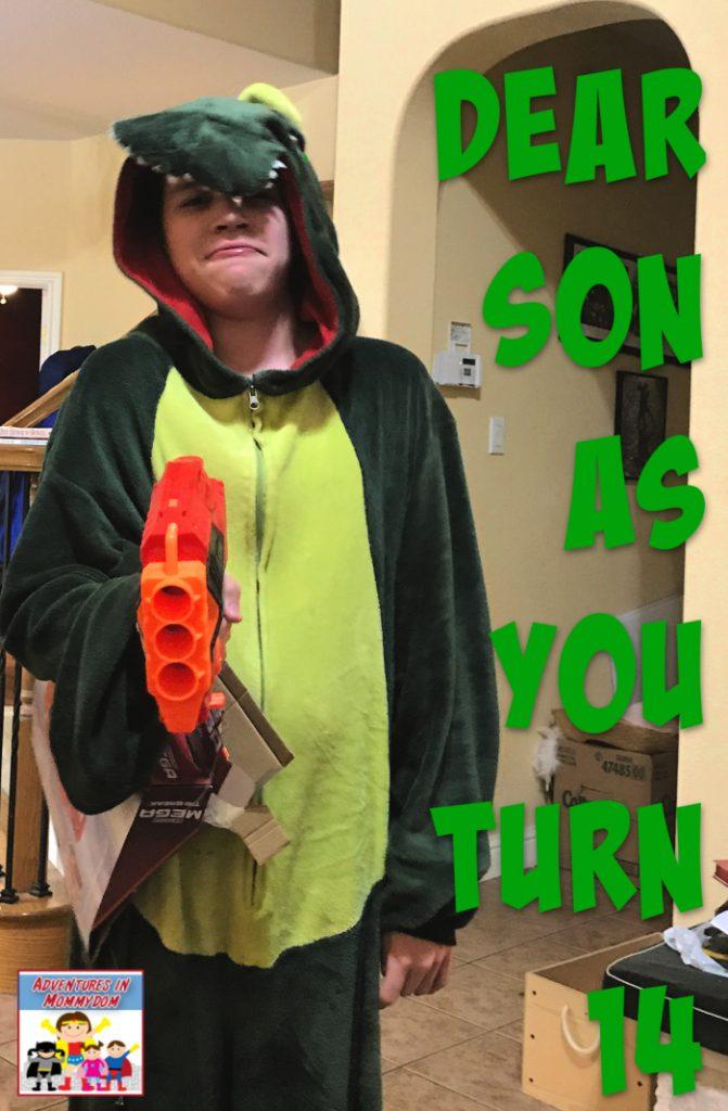 Dear son 2 as you turn 14