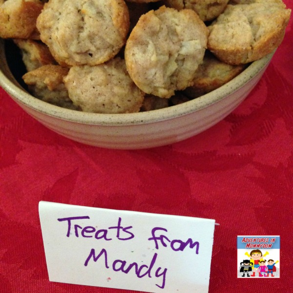Ella Enchanted snack muffins