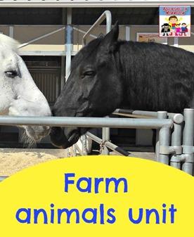 Farm animals unit