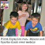 First Olympics activity