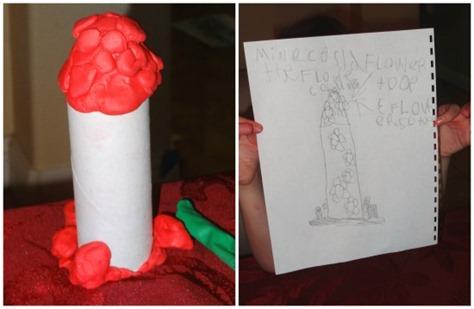 Flower column design
