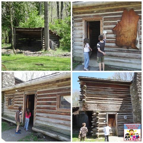 Fort Boonesborough houses
