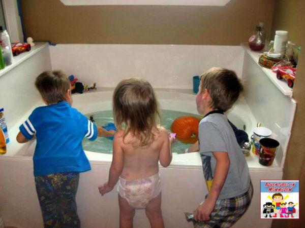 Halloween pumpkin science