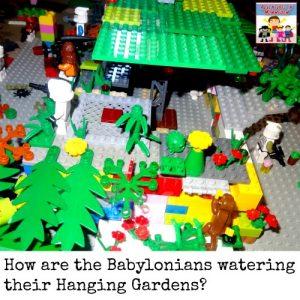 Lego Hanging gardens of Babylon