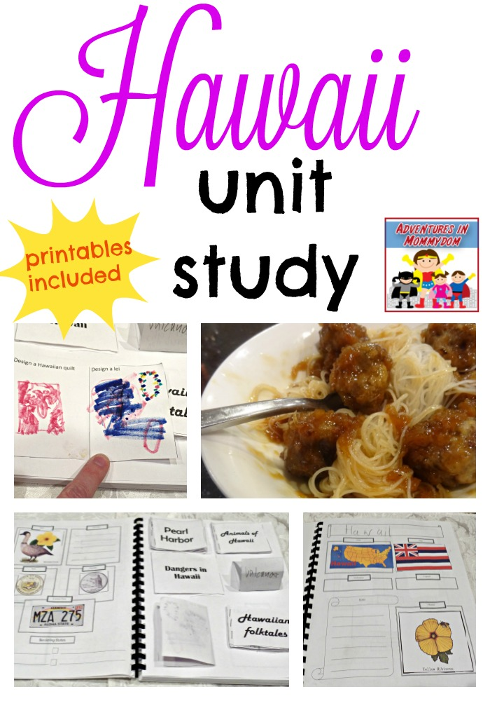 Hawaii unit study