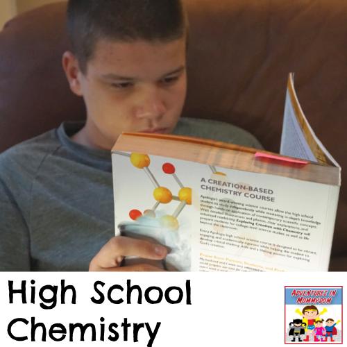 High School chemistry curriculum 10th science