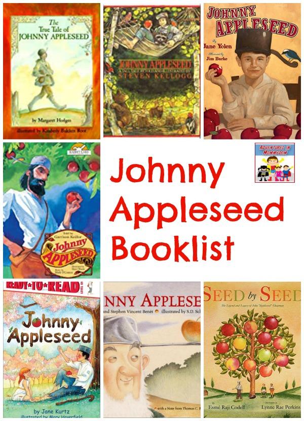 Johnny Appleseed booklist