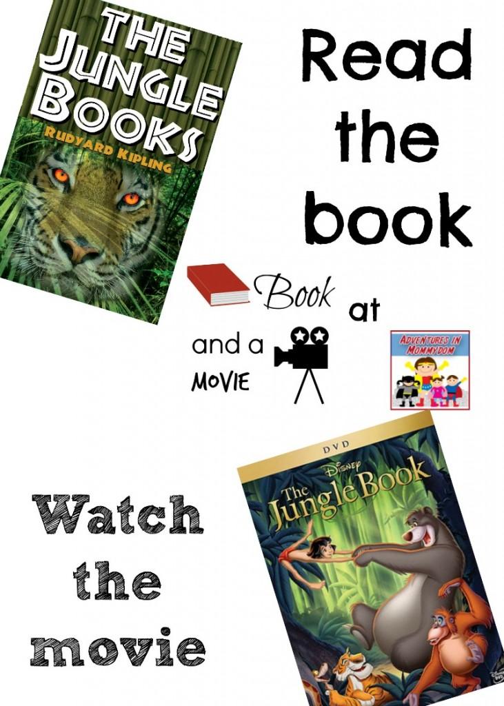 Jungle Book book and a movie night