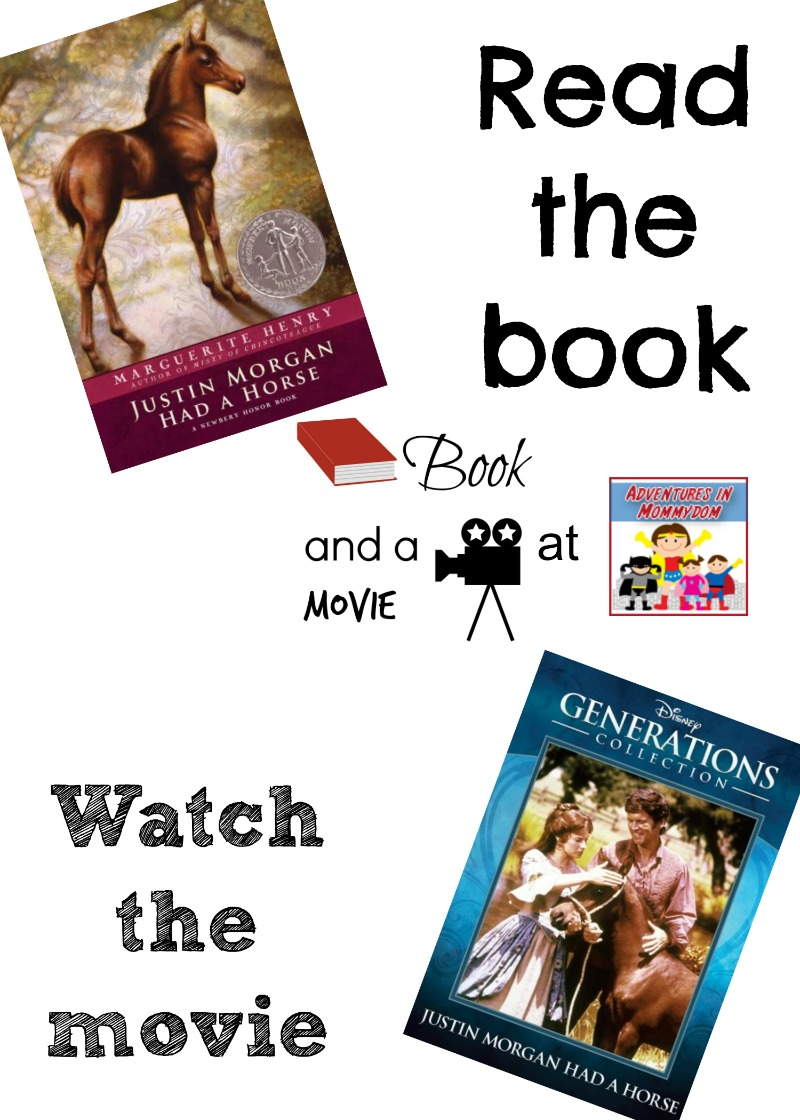 Justin Morgan Had a Horse book and a movie