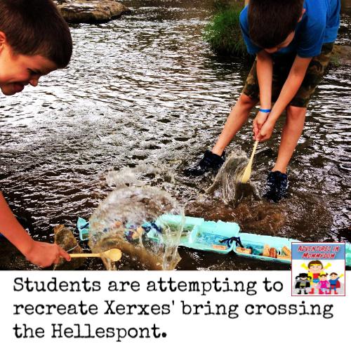 King Xerxes lesson for elementary