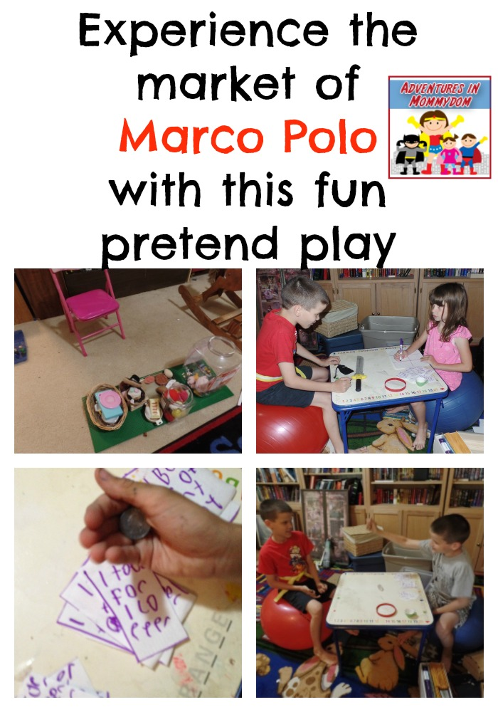 Marco Polo pretend play