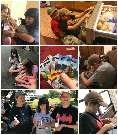 May week 1 homeschool 2018