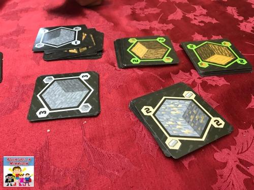 Minecraft card game supplies