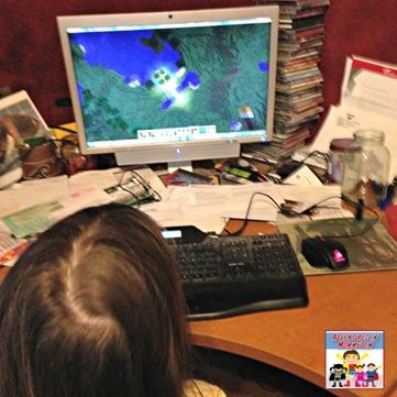 Minecraft Hanging Gardens of Babylon lesson