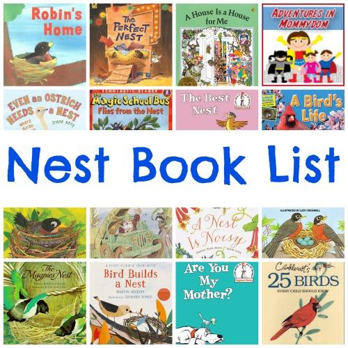 Nest book list for My Father's World kindergarten