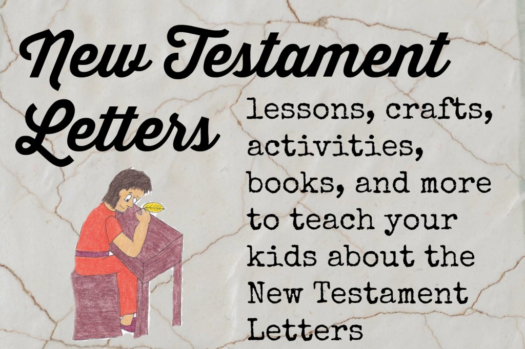 Paul Letters Sunday School Craft