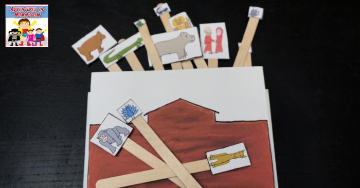 Noah's ark craft for Bible class