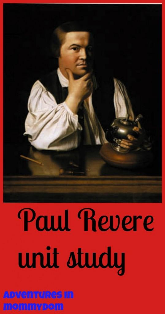 Paul Revere Unit Study