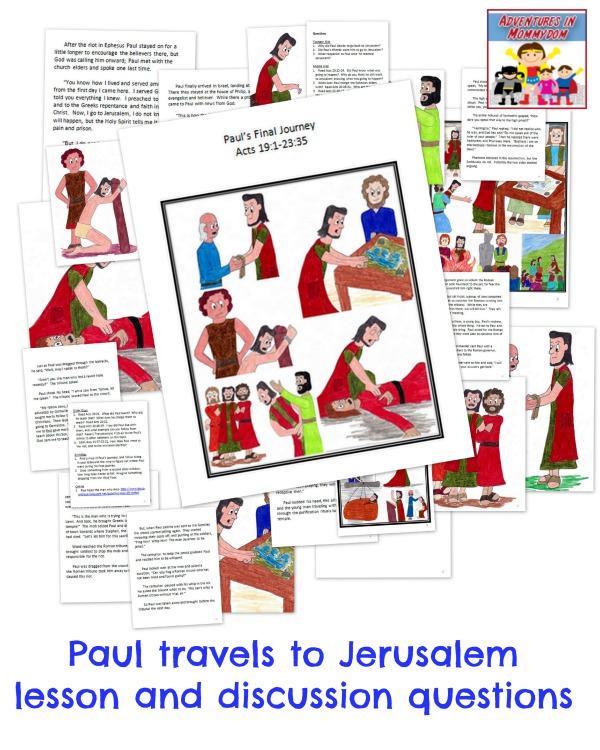 Paul's third missionary trip lesson