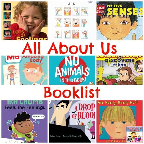 All About Us booklist preschool kindergarten My Father's World