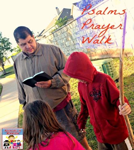 Psalms Prayer Walk