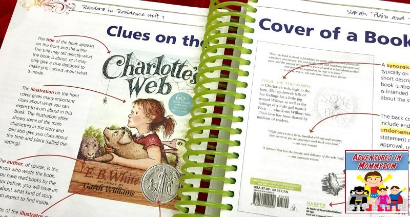 Readers in Residence for homeschool reading