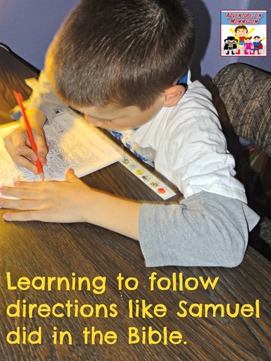 Samuel activities