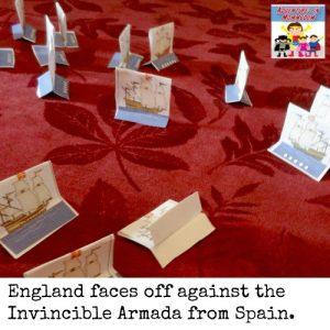Spanish Armada lesson