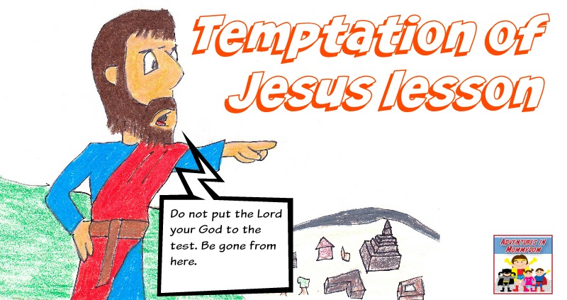 Temptation Of Jesus Activity