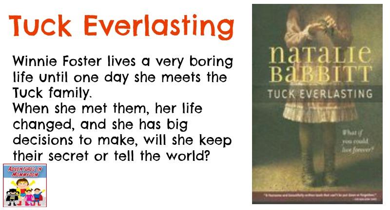 Tuck Everlasting book description