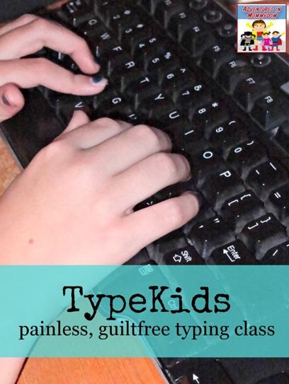 TypeKids painfree typing classes