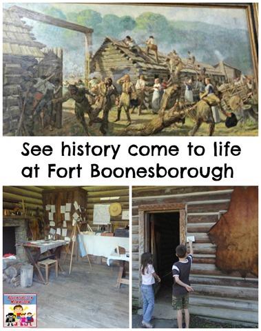 Visit Fort Boonesborough, KY