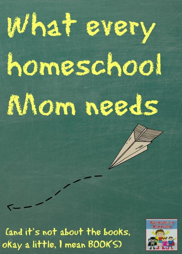 10 Things Every Homeschool Mom Needs