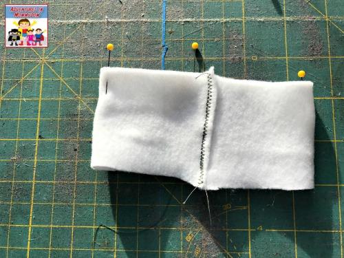 World War 1 nurse's hat craft pinned