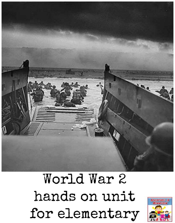 World War 2 hands on unit
