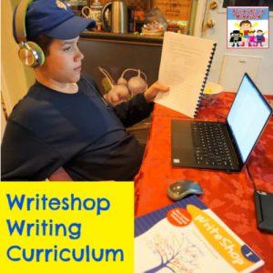 Writeshop homeschool writing curriculum