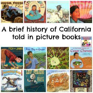 a brief history of California picture books